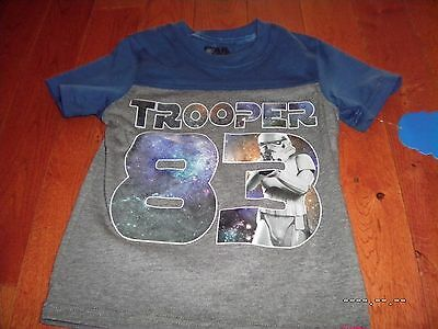 NWT Boy Girls STAR WARS 1983 Storm Troopers vintage style shirt XS appr.5 movie