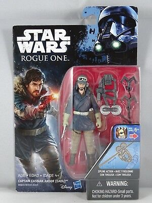 Star Wars - Hasbro - Captain Casian Andor (Eadu) - Rogue One - Blister -New-2016