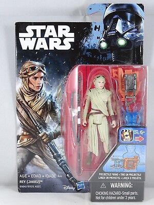 Star Wars - Hasbro - Rey (Jakku) - Blister - New - 2016
