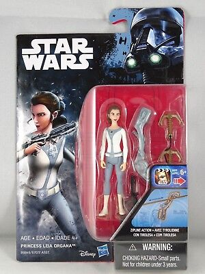 Star Wars - Hasbro - Princess Leia Organa - Rebels - Blister - New - 2016