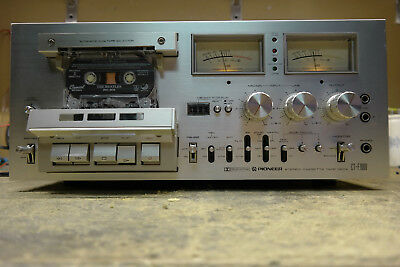 Pioneer CT-F1000 Cassette Deck Professional Restoration Service Only