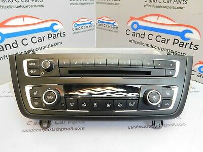 Bmw F20 F21 F22 F23 F30 F31 Auto Air Con Heater Control Panel 9354146 9348827