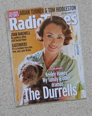 Keeley Hawes / The Durrells -– Radio Times Cover 22 - 28 April 2017