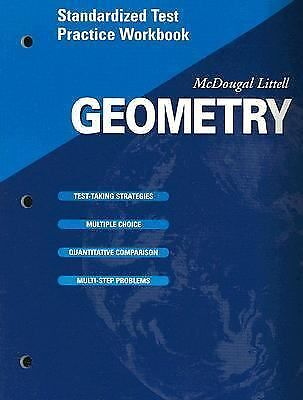 McDougal Littell High Geometry: Standardized Test Practice Workbook SE