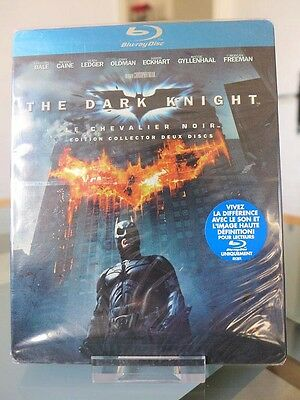 New Sealed Dc Batman The Dark Knight Steelbook Blu-Ray French First Edition