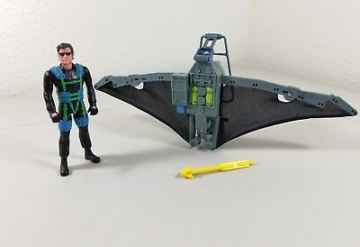 Jurassic Park Lost World Glider Pack with Exclusive Ian Malcolm Figure COMPLETE!