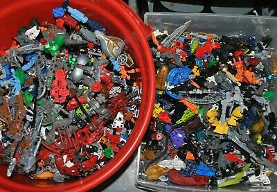 APPROX 1 KG LEGO KILO job lot Bionicle Hero Factory Galidor Constraction figures