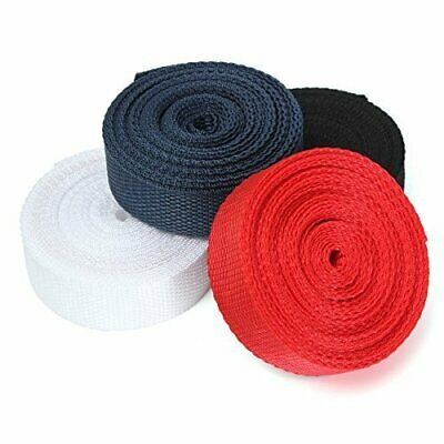 25mm(1 INCH) and 50mm (2inch) Nylon Strong Webbing/Bunting White and Black