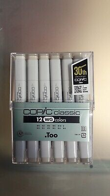 Copic Markers 12 Units Warm Grey C20075154