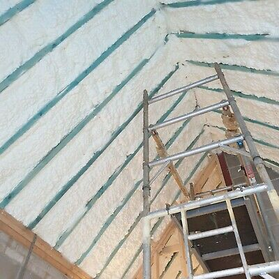 OPEN CELL SPRAY FOAM INSULATION-sprayed foam Loft/Attic insulation