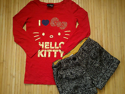 ***AMAZING**WINTER 2x NEXT BUNDLE OUTFITS GIRL 7 YRS SHORT LONG SLEEVE TOP (0.35