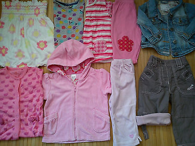 11x NEXT BABY GIRL BUNDLE OUTFITS 6/9 MTHS V.G.C(1.42)