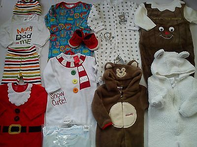NICE 44x BUNDLE BABY BOY CLOTHES AUTUMN WINTER COLLECTION 3/6 MTHS (5.7)