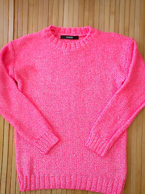 ***Amazing***New Pink George Girl Jumper 8/9 Yrs (0.4) Nr2