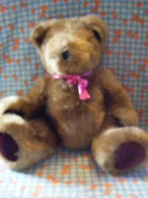 """Somerset quality Toys  brown Teddy bear 15"""" approx VGC"""