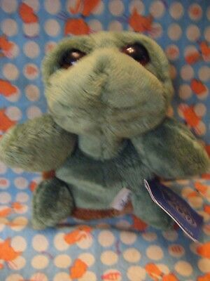 """Chester Zoo Rocky Turtle By Suki  Cute Soft Toy 6""""   Approx With Tatty Tag"""