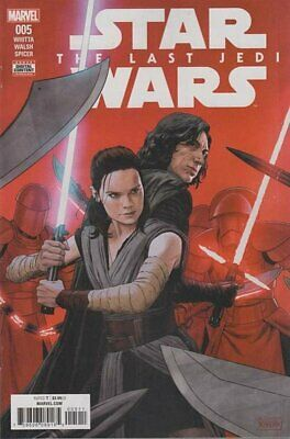 Star Wars: Last Jedi Movie Adaptation (2018 Ltd) #   5 (VFN+) (VyFne Plus+) COMI