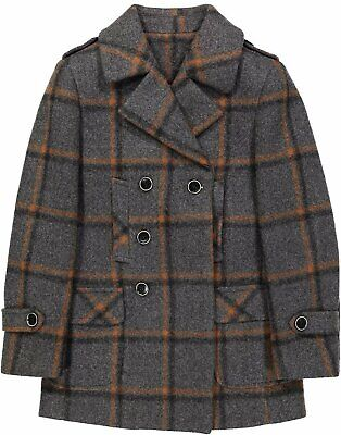 e32181d8f ISAAC MIZRAHI BOY'S Double Breasted Belted Trench Coat-Raincoat With ...