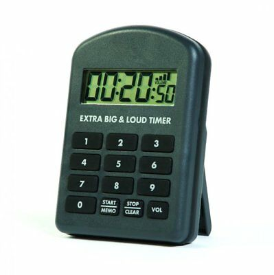 Digital Water Resistant Kitchen and Cooking Extra Big & Loud Timer