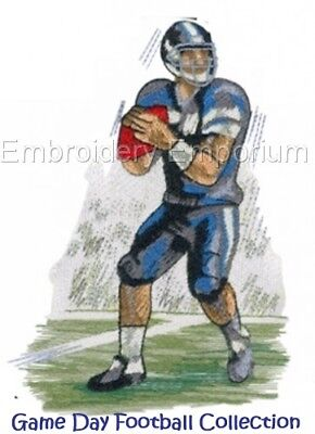 Game Day Football Collection - Machine Embroidery Designs On Cd Or Usb