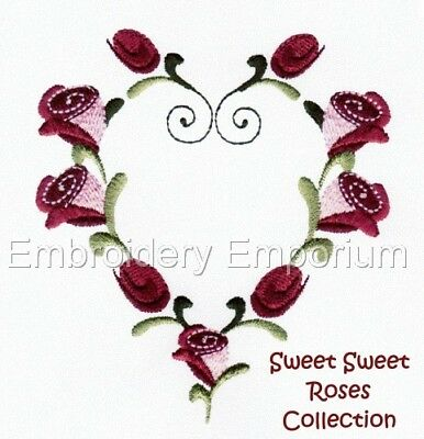 Sweet Sweet Roses Collection - Machine Embroidery Designs On Cd Or Usb