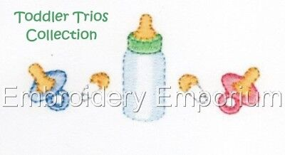Toddler Trios Collection - Machine Embroidery Designs On Cd Or Usb