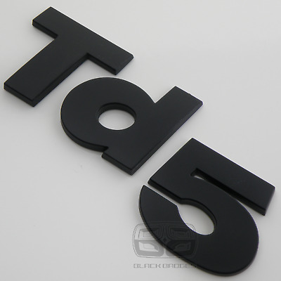 Land Rover Discovery 2 Defender County 90 110 Matt Black 3D Td5 Wing Back Badge