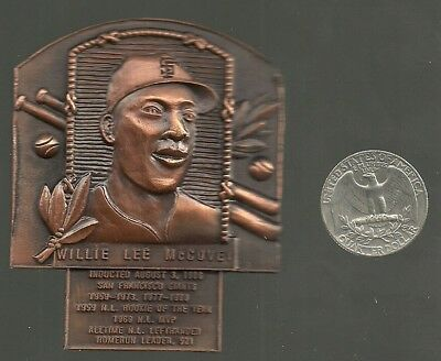 WILLIE McCOVEY HALL OF FAME BUST CAST METAL PIN SAN FRANCISCO GIANTS
