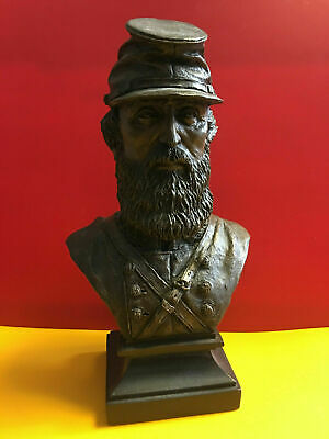 Gift Boxed Stonewall Jackson Bust Statue Sculpture Figure