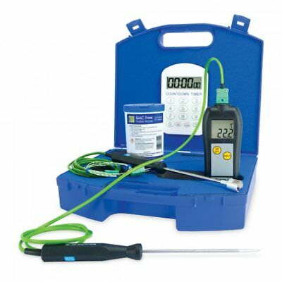 Legionnaire or Legionella Thermometer Kit includes Type K Thermocouple Probes