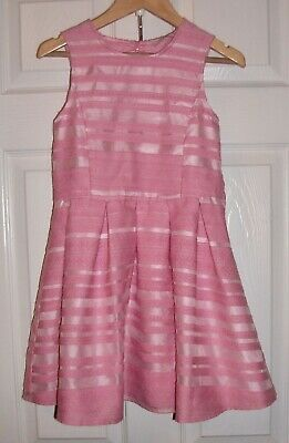 Girls Gorgeous Candy Pink Dress Age 7-8 Years