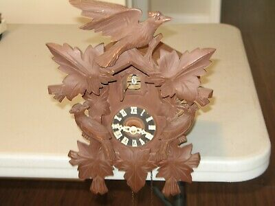 Vintage Black Forest Cuckoo Clock with Bachmaier Klemmer 1 day movement