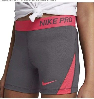 Youth Girl's NIKE  compression running sport gym dance SHORTS 12-13 years Large