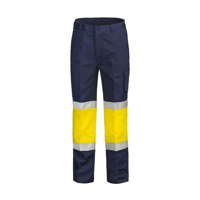 Workcraft Traffic Controller Cotten Drill Cargo Pants WorkWear
