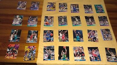 Stickers lot Upper Deck 92/93 -86 cards- Nºs 1-247 very good condition