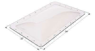 """ICON 01854 RV Skylight Clear Outer Dome 22"""" X 34"""""""