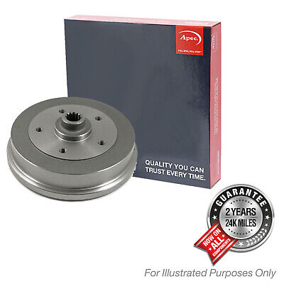 Fits Renault Zoe ZOE Genuine OE Quality Apec 4 Stud Brake Drums