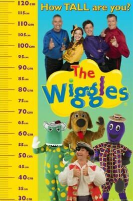 Wiggles Height Chart Poster
