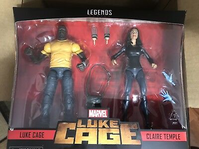 """Marvel Legends LUKE CAGE & CLAIRE TEMPLE 6"""" Figure 2-Pack  Exclusive  In Stock"""