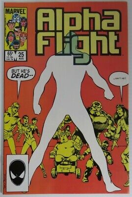 1985 Alpha Flight #25 -  Vf                   (Inv22713)