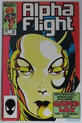 1985 Alpha Flight #20 -   Nm                   (Inv22718)