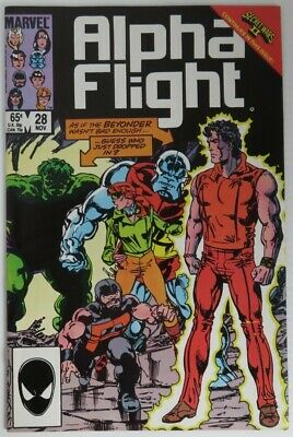 1985 Alpha Flight #28 -  F                   (Inv22710)