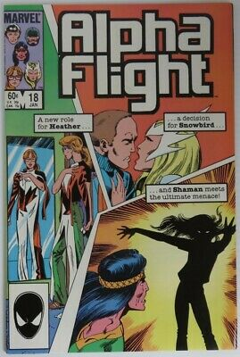 1985 Alpha Flight #18 -  Vf                   (Inv22672)