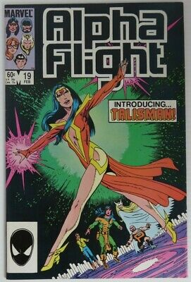 1985 Alpha Flight #19  -   F                   (Inv22719)