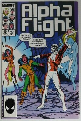 1985 Alpha Flight #27 -  Vg                   (Inv22711)