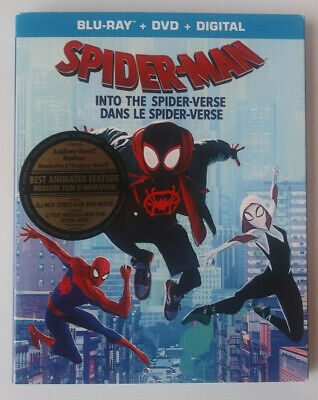 SPIDERMAN Into The Spiderverse - BLU-RAY, DVD & DIGITAL - BRAND NEW UNOPENED