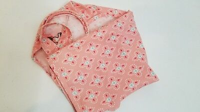 Infants/Women's Peach Print Cotton Nursing Cover Up