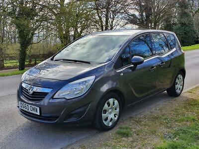 2010 Vauxhall Meriva 1.4 T 16v Exclusiv 5dr (a/c)