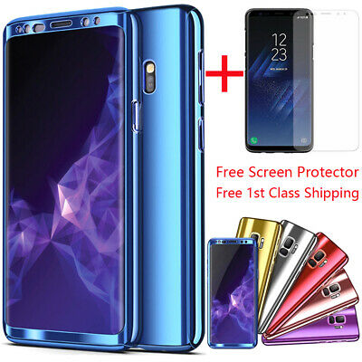Slim Case 360° Full Body Shockproof Cover For Samsung Galaxy Note9 S9 S10e Plus