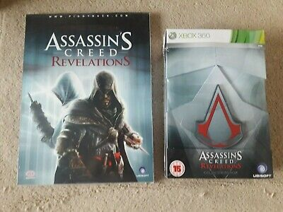 NEW Assassins Creed Revelations Limited Collectors Edition + Game guide RARE